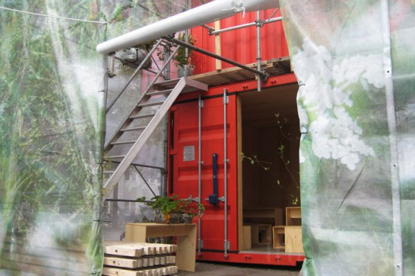 Ikea sustainable house made from shipping containers - Ikea container home ...