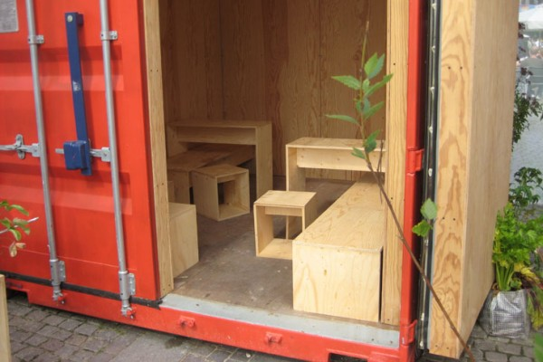 IKEA container house